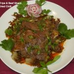 Beef Tripe & Shank with Dried Chilli in Sichuan Style