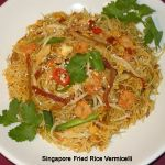 Singapore Fried Rice Vermicelli