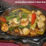 Sizzling Mixed Seafood with Green Pepper in Black Bean Sauce